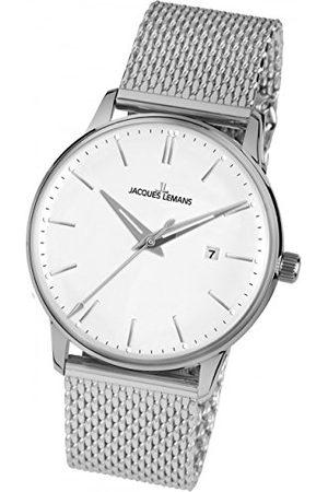 Jacques Lemans Dames Horloges - Dames analoog kwarts horloge met roestvrij stalen armband N-216E
