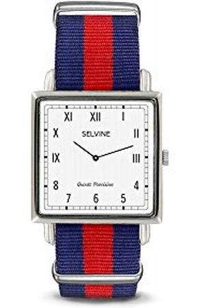 Selvine Dames Horloges - SPRE4 dameshorloge, analoog, kwarts, met armband van roestvrij staal