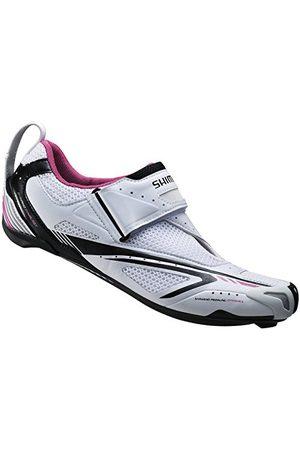 Shimano Heren Outdoorschoenen - Volwassenen fietsschoenen Triathlonschoenen SH-WT60 GR. 41 SPD-SL klittenbandsluiting, meerkleurig