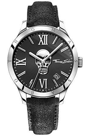 Thomas Sabo Heren Horloges - Herenhorloge analoog kwarts leer WA0210-218-203-43 mm