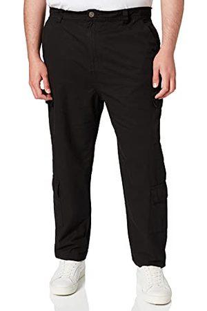 Urban classics Heren Cargo's - Tapered Double Cargo Pants vrijetijdsbroek voor heren.