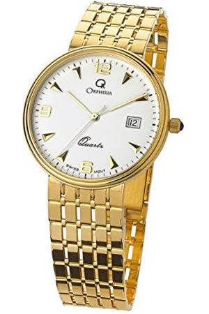 ORPHELIA Dames Horloges - Mon-7079 analoog kwartshorloge met geelgoud