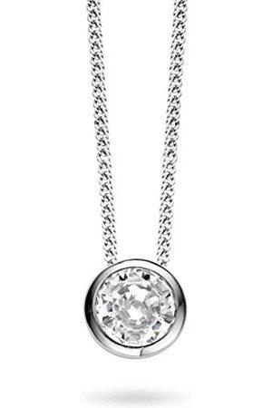 Ti Sento Milano Dames Kettingen - Halsketting van gerhodineerd sterling - 3807ZI