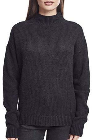 Urban classics Dames Sweaters - Dames Dames Oversize Turtleneck Sweater Sweatshirt