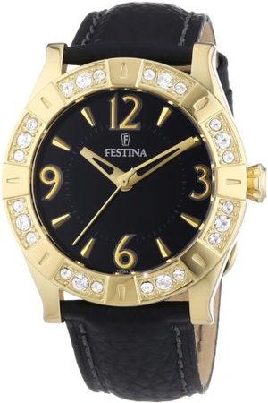 Festina Dames Horloges - Dameshorloge Trend Golden Dream analoog leer F16580/4