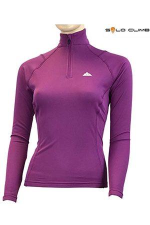 SOLO CLIMB Dames Lange mouw - Dry Hot Zip Woman Sweatshirt, uniseks, voor volwassenen