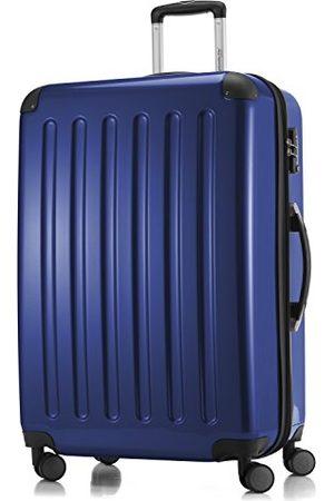 Hauptstadtkoffer Koffers - Alex - harde koffer met 4 dubbele wielen, trolleykoffer, uitbreidbare reiskoffer, TSA, 75 cm, 119 liter, donkerblauw