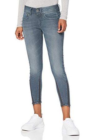 G-Star Dames Skinny - Lynn Skinny Jeans voor dames, 2-zip mid waist skinny enkels.