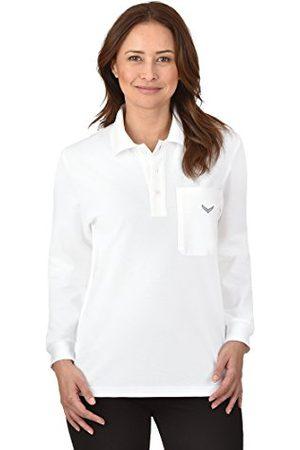 Trigema Dames Lange mouw - Poloshirt met lange mouwen voor dames.