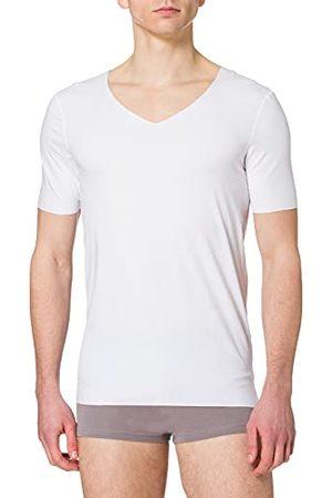 Schiesser Heren Onderhemden & Shirts - Heren Laser Cut V-hals onderhemd ondergoed