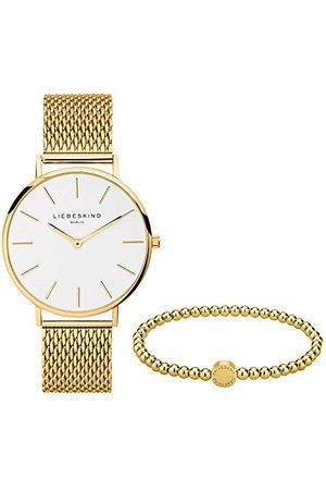 liebeskind Dames Horloges - Set van polshorloge en beadarmband LS-0091-MQB