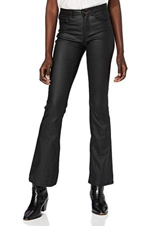 Pieces Pcroxy Flared Mw Coated Pant-vi Bc broek voor dames