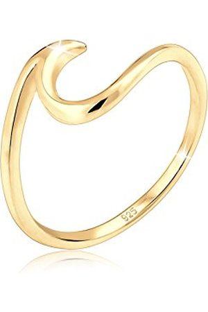 Elli Dames Ringen - Dames. 925 sterling zilver 925 sterling zilver zonder steen