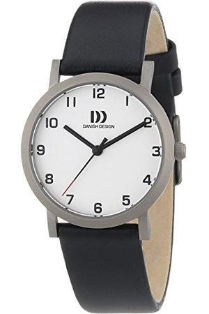 Danish Design Dames Horloges - Dameshorloge XS analoog kwarts leer 3326600
