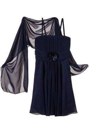 Gol Meisjes Jurken - G.O.L. Meisjes kledingset chiffon jurk met stola