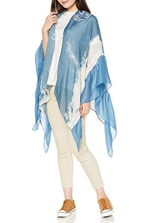 Desigual Dames KIMONO_SUNNY MOOD sjaal, (Blue Moon 2051), één maat (fabrieksmaat: U)