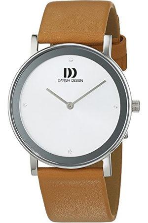 Danish Design Dames Horloges - Dameshorloge analoog kwarts leer 3324575