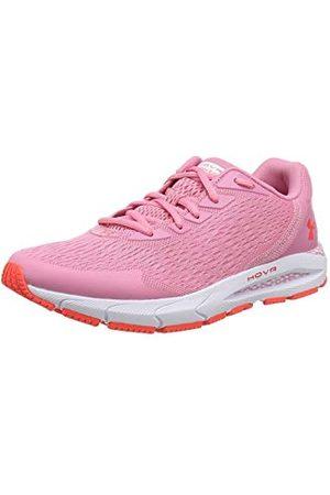 Under Armour Jongens Schoenen - Unisex Kids Grade School HOVR Sonic 3 Running Shoes, Red (Lipstick/White/Beta), 3.5 UK