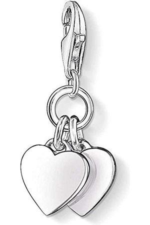 Thomas Sabo Dames Kettingen - Damesbedel Club-hanger hart 925 sterling 0836-001-12
