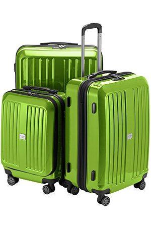 Hauptstadtkoffer Hoofdkoffer - XBERG - koffer hard shell trolley, Set, appelgroen