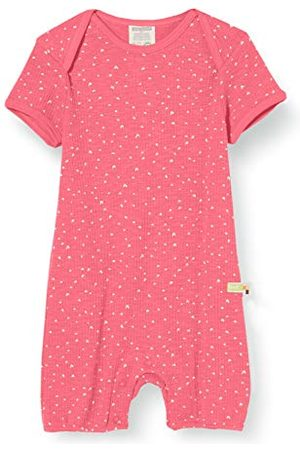 loud + proud Meisjes Boxpakjes - Baby-meisjes short Romper wafle Knit Organic Cotton Stramler