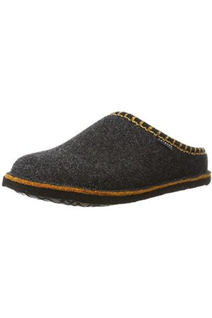 Fargeot Heren Pantoffels - CALOUFOLK Uniseks - Volwassenen Pantoffels, graniet, 44 EU