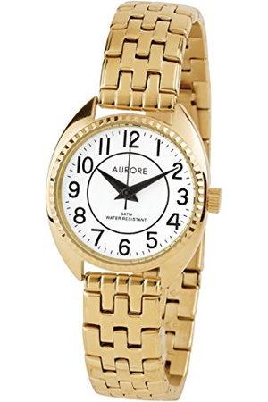 AURORE Dames Horloges - Dameshorloge, analoog, kwarts, met armband van roestvrij staal AF00047