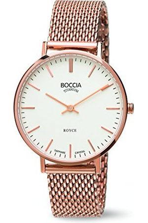 Boccia Dames Horloges - Dameshorloge analoog kwarts roestvrij staal 3590-09