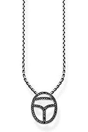 Thomas Sabo Glam & Soul KE1523-643-11-L45v Damesketting met hanger, 925 , zirkonia, wit, 45 cm
