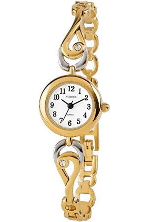 AURORE Dames Horloges - AF00050 Dameshorloge, analoog, kwarts, met armband van roestvrij staal