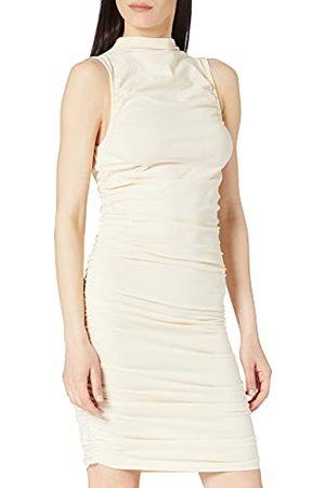 NA-KD Dames Casual jurken - Dames verzameld mouwloos Jersey jurk Casual