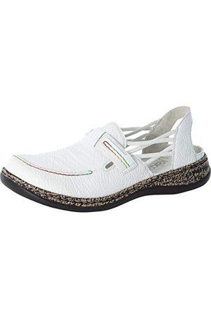 Rieker Dames Loafers - 46371-80, slipper Dames 40 EU