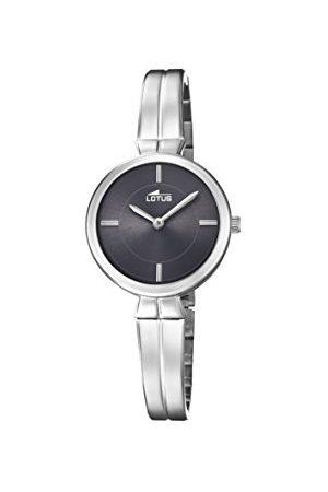 Lotus Dames Horloges - Klassiek dameshorloge kwarts met armband van roestvrij staal 18439/2