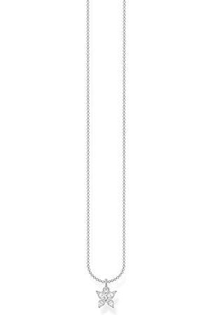 Thomas Sabo Dames Kettingen - Dames halsketting sterling 925 andere vorm zirkonia KE2102-051-14-L45v