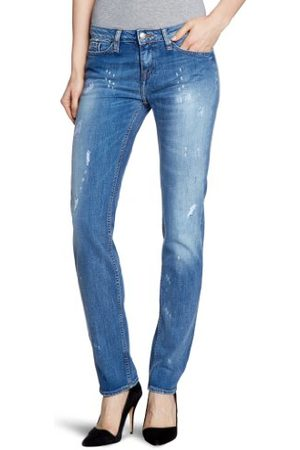 Tommy Hilfiger Dames jeans ROME SLL SOMMERSBY / 1M87625883 Straight Fit (rechte broek) normale tailleband