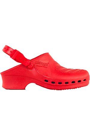 REPOSA Dames Sandalen - Complete Sanitaire klompen, Sanitaire schoenen, Natuurlijk antistatisch SEBS-polymeer, Latexvrij, Gesloten bovenkant, Zijopeningen, Anatomische zool, SRB antislipzool, Autoclaveerbaar