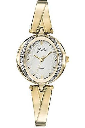 Joalia Dames analoog kwarts horloge met roestvrij stalen armband 630597