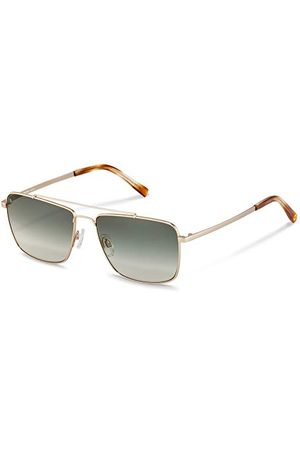 Rodenstock Heren Zonnebrillen - Zonnebril Youngline Sun RR104 (heren), lichtgewicht zonnebril casual stijl, pilotenbril met roestvrijstalen montuur