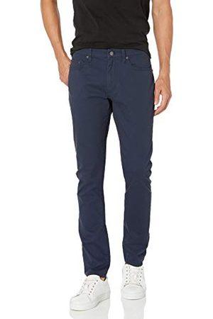 Amazon Heren Slim & Skinny broeken - Heren Skinny-fit 5-Pocket Stretch Twill Pant,marineblauw,34W / 34L