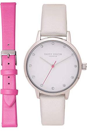 Daisy Dixon Dames Riemen - Dames analoog quartz horloge met PU riem DD052EP