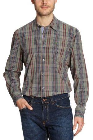 Lerros Heren Casual - Heren overhemden/vrije tijd, geruit 2171126