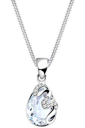 Elli Damen .925 Sterling Silber Tropfenschliff kristal