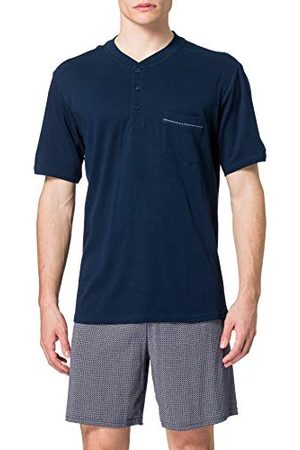 Schiesser Comfort Fit pyjamaset voor heren, korte pyjamaset