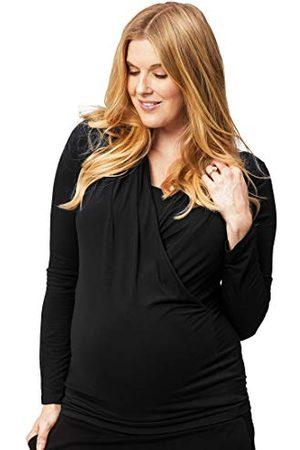 Cake Maternity Dames lange mouw moederschap en verpleegkundige top, , klein T-shirt
