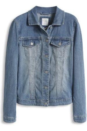 Esprit Dames jeansjas in biker used-look