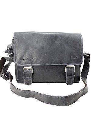 ARRIGO BELLO Unisex-Volwassenen Messenger Bag Boodschappentas, (donkerblauw), 31x20x14 cm