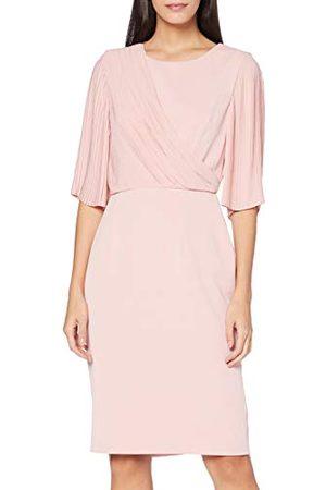 Gina Bacconi Wilhelmina chiffon mouw crêpe jurk voor dames