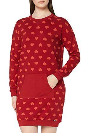 Skiny Dames Sleepshirt lange mouwen nachthemd