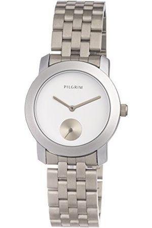 Pilgrim Dames analoog kwarts horloge met roestvrij stalen armband 701616020
