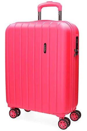 MOVOM Koffers - Movon Wood koffer, Uitbreidbare cabinekoffer, fuchsia - 5318668